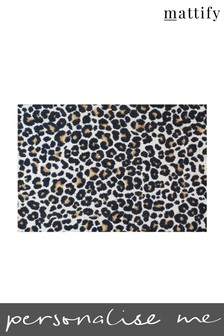 Mattify Leopard Print Doormat
