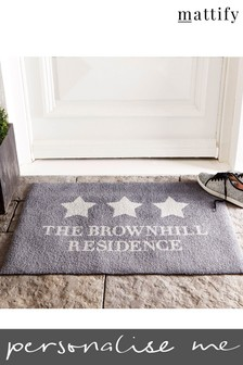 Personalised Residence Doormat by Mattify