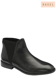Ravel Leather Chelsea Ankle Boot
