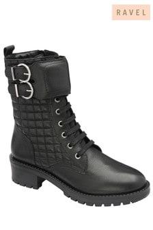 Ravel Leather Biker Boot