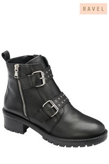 Ravel Leather Biker Boot