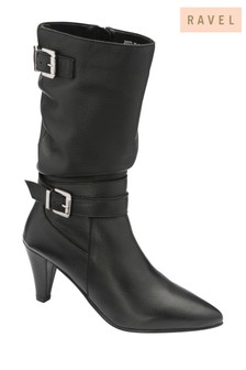 Ravel Leather Calf Boot