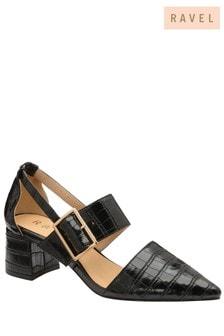 Ravel Moc Croc-Print Shoe