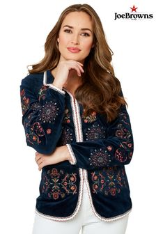 Joe Browns Embroidered Velvet Jacket