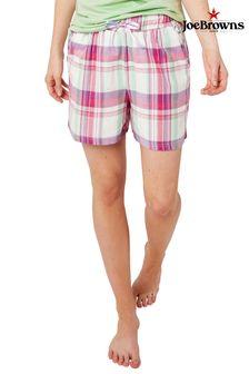 Joe Browns Mix And Match Check Pyjama Shorts