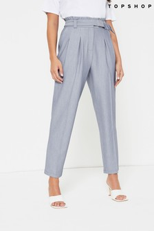 Topshop Belted Trouser