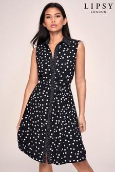 Lipsy Printed Shirt Dress