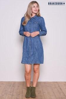 Brakeburn Denim Shirt Dress
