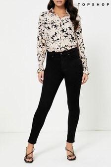 Topshop Regular Leg Leigh Skinny Jeans
