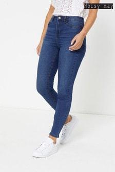 Noisy May High Waist Skinny Jeans