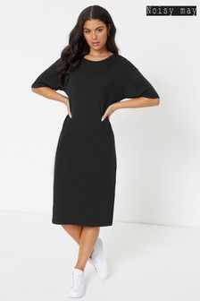 Noisy May Midi T-Shirt Dress