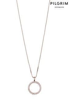 Pilgrim Malin Crystal Necklace