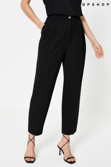 Topshop Clean Straight Leg Trousers