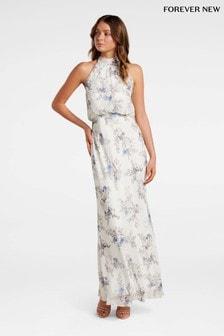 Forever New Halter Maxi Dress