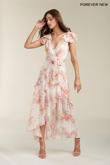 Forever New Ruffle Maxi Dress