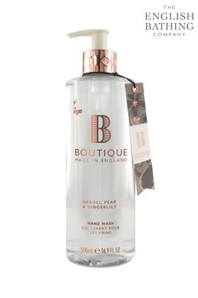 Boutique from The English Bathing Company Neroli, Pear & Gingerlily Hand Wash 500ml