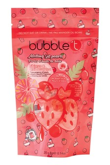 Bubble T Bath Pearls Hibiscus & Acai 20 x 8g