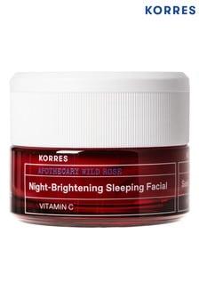 Korres Wild Rose Night-Brightening Sleeping Facial 40ml