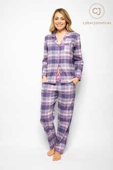 Cyberjammies Long Sleeve Printed PJ Set