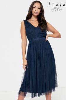 Anaya With Love Bow Maxi Dress