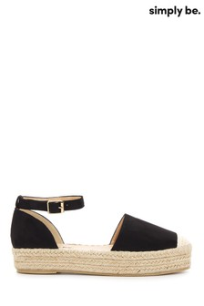 Simply Be Faline Espadrille Wedges