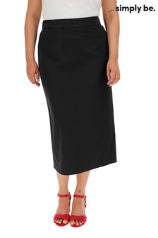 Simply Be Smart Stretch Tailor Skirt