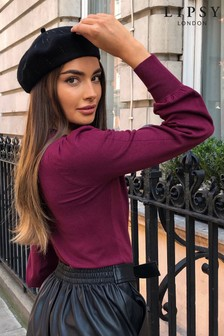 Lipsy Beret Gem Hat