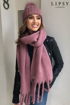 Lipsy Cable Knit Scarf