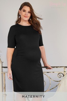 Bump It Up Maternity Midi Tube Dress