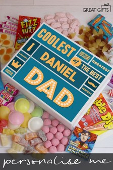 Perasonalised Deluxe Sweet Gift Box by Great Gifts
