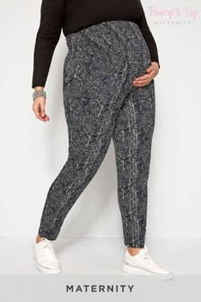 Bump It Up Maternity Print Heram Trouser