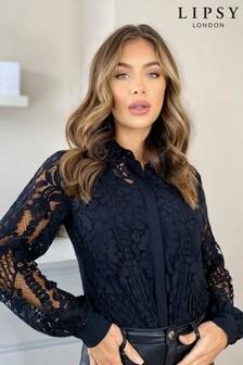 Lipsy VIP Lace Shirt