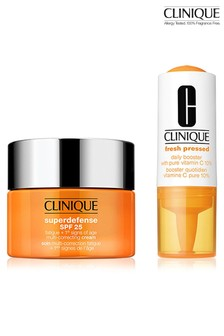 Clinique Starter Duo Kit: Fresh Pressed Vit C 10% + SD Cream 15ml