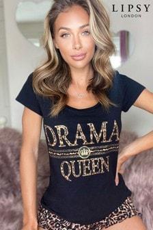 Lipsy Scoop Tshirt Short Pyjama Set