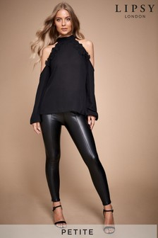 Lipsy Petite Faux Leather Legging