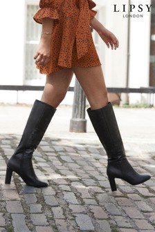 Lipsy Heeled Long Boot