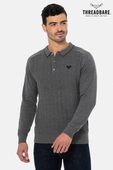 Threadbare Knitted Polo Jumper