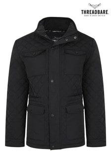 Threadbare Four Pocket Quilted Jacket