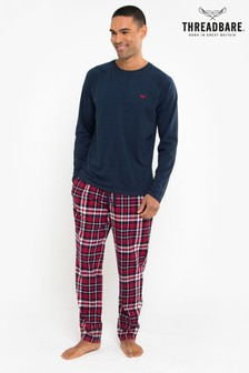 Threadbare Check Pyjama Set