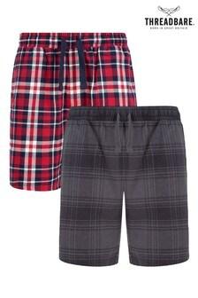 Threadbare Check Short Loungewear Set- Pack Of 2