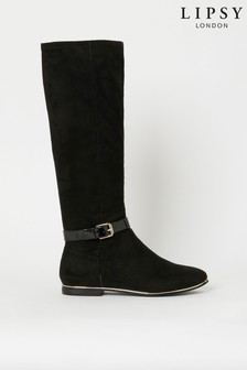 Lipsy Girl Long Flat Boot