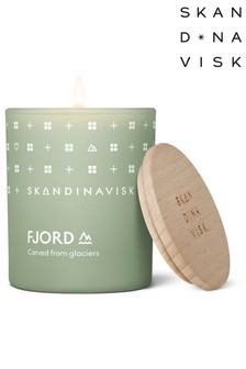 SKANDINAVISK FJORD Scented Candle with Lid 65g