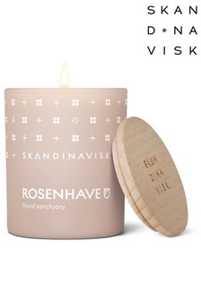 SKANDINAVISK ROSENHAVE Scented Candle with Lid 65g