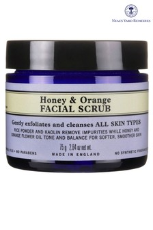 Neals Yard Remedies Honey & Orange Scrub  75g
