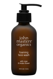 John Masters Organics Foaming Face Wash with Rose and Linden Flower 112ml