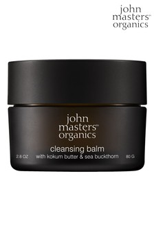 John Masters Organics Cleansing Balm With Kokum Butter and Sea Buckthorn 80g