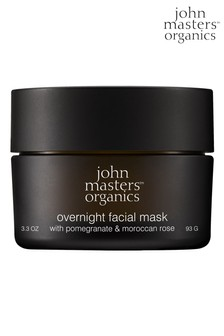 John Masters Organics Overnight Facial Mask with pomegranate and moroccan rose 93g