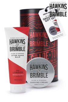 Hawkins & Brimble Grooming Gift Set RED