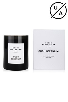 Urban Apothecary 300g Oudh GeraniumLuxury Candle