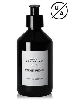 Urban Apothecary 300ml Velvet Peony Luxury Hand & Body Wash